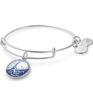 NWT Alex and Ani Seas the Day Silver Bangle